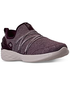 Women's YOU - Vision Athletic Walking Sneakers from Finish Line