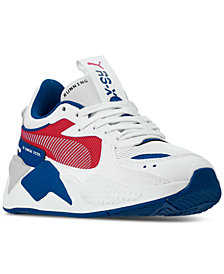 Puma Big Boys' RS-X Hard Drive Casual Sneakers from Finish Line
