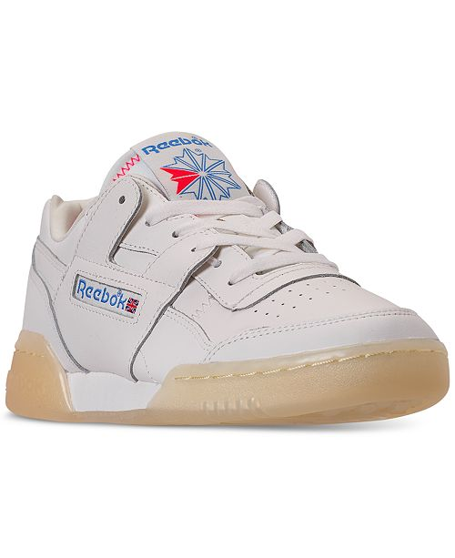 Reebok Women's Workout Plus Casual Sneakers from Finish Line