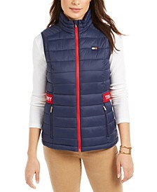 Quilted Logo Vest