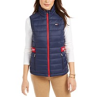 Deals on Tommy Hilfiger Sport Quilted Logo Vest