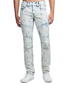 Men's Rocco Moto Skinny Jeans
