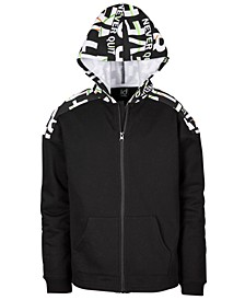 Big Boys Printed Zip-Up Hoodie, Created for Macy's