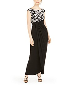 Petite Soutache-Top Gown