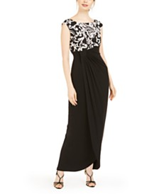 Connected Petite Soutache-Top Gown