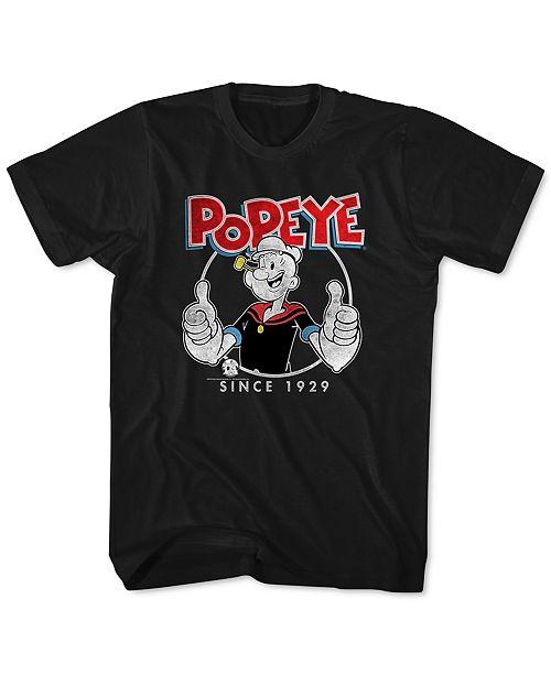 New World Popeye Men's Graphic T-Shirt