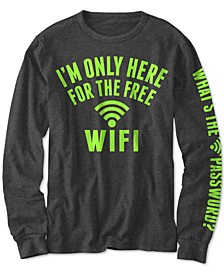 Big Boys Free WiFi T-Shirt