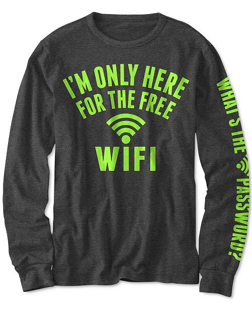 Jem Big Boys Free WiFi T-Shirt