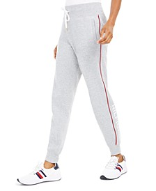 Fleece Varsity-Stripe Joggers