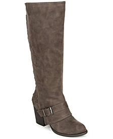 Larissa Wide Calf Tall Boots