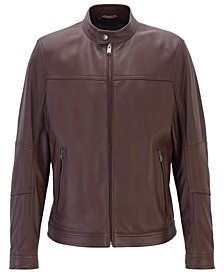 BOSS Men's Nestem Regular-Fit Blouson Jacket