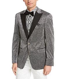 Tallia Orange Men's Slim-Fit Silver Dinner Jacket
