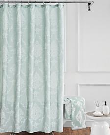 """Croscill Juno 72"""" x 84"""" Extra Long Shower Curtain"""