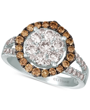Diamond Statement Ring (1-1/2 ct. t.w) in 14k White Gold