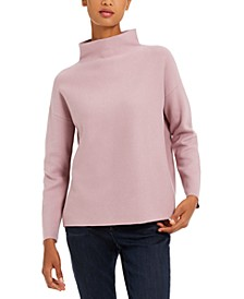 Organic Cotton Funnel-Neck Top