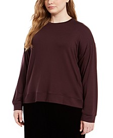 Plus Size Crewneck Top