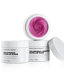 Volumizing Lip Scrub and Mask Duo