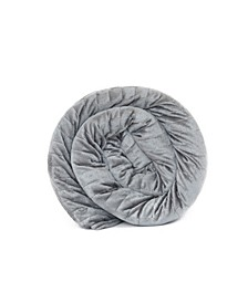 King Size Solace Therapeutic Weighted Blanket 25lbs with Duvet Cover