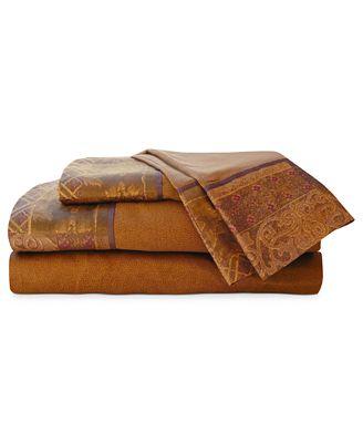 Croscill Galleria Red King Sheet Set Bedding Collections Bed - Croscill galleria king comforter set