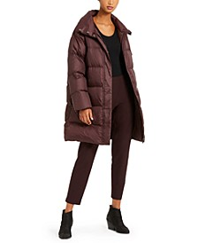 Funnel-Neck Puffer Coat, Regular & Petite