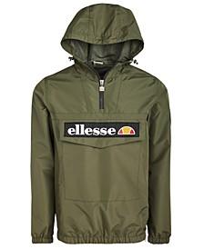 Men's Mont 2 Logo Quarter-Zip Hooded Jacket