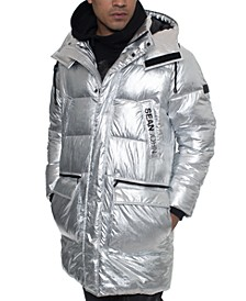 Men's Detachable Hooded Parka