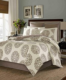 Medallion Full/Queen Duvet Cover Set
