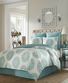 Bristol Full/Queen Duvet Cover Set