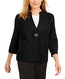 Brooch Cardigan, Created for Macy's