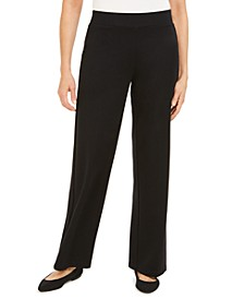Wide Leg Pull-On Pants, Created For Macys