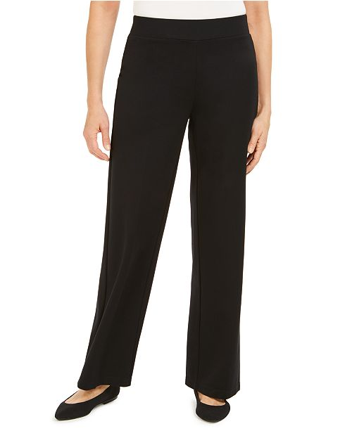 JM Collection Wide Leg Pull-On Pants, Created For Macys