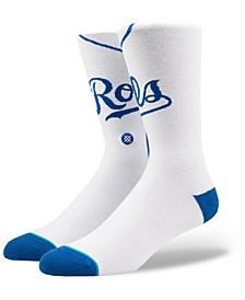 Kansas City Royals Home Jersey Series Crew Socks