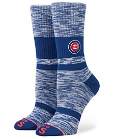 Women's Chicago Cubs Classic Crew Socks