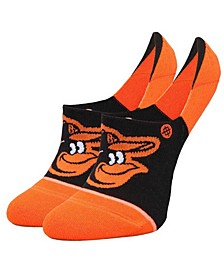 Women's Baltimore Orioles Invisible No Show Socks