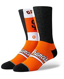 San Francisco Giants Pop Fly Crew Socks