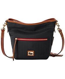 Wayfarer Nylon Mini Hobo Crossbody