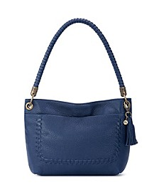 Flores Leather Small Hobo