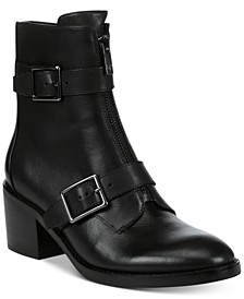 Dusten Leather Booties