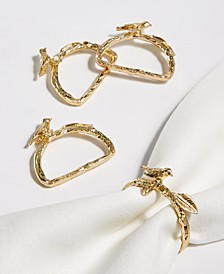 Bird Napkin Rings, Set of 4, Created For Macy's