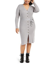 Trendy Plus Size Cardigan Dress