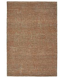 """Textura TXT02-53 Paprika 3'6"""" x 5'6"""" Area Rug"""