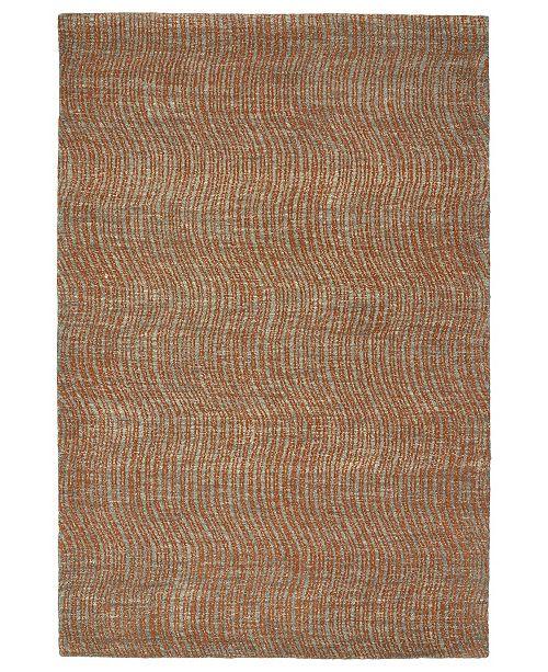 """Kaleen Textura TXT02-53 Paprika 3'6"""" x 5'6"""" Area Rug"""