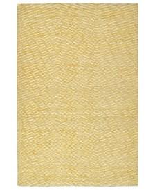 "Textura TXT05-05 Gold 5' x 7'9"" Area Rug"