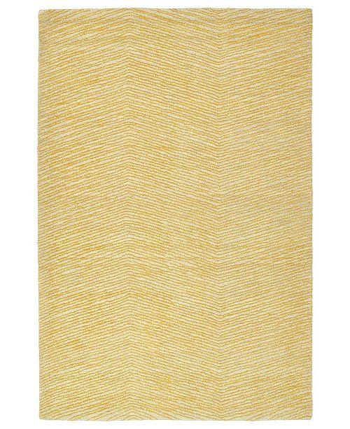 """Kaleen Textura TXT05-05 Gold 5' x 7'9"""" Area Rug"""