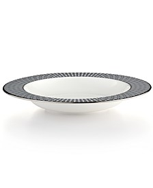 Mercer Drive Platinum Rim Soup Bowl