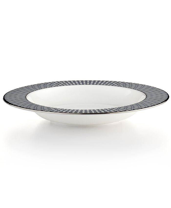 kate spade new york - Mercer Drive Rim Soup Bowl