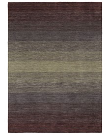 "Shades SHD01-95 Purple 5' x 7'6"" Area Rug"