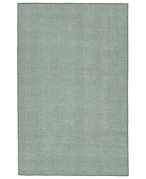 Kaleen Ziggy ZIG01-91 Teal 9' x 12' Area Rug