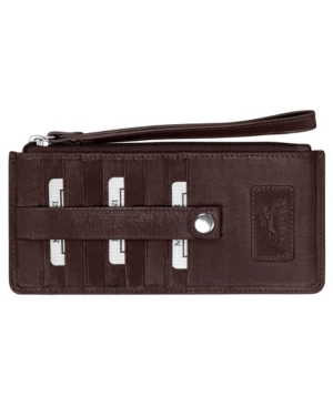 Casablanca Collection Rfid Secure Ladies Wristlet/Wallet