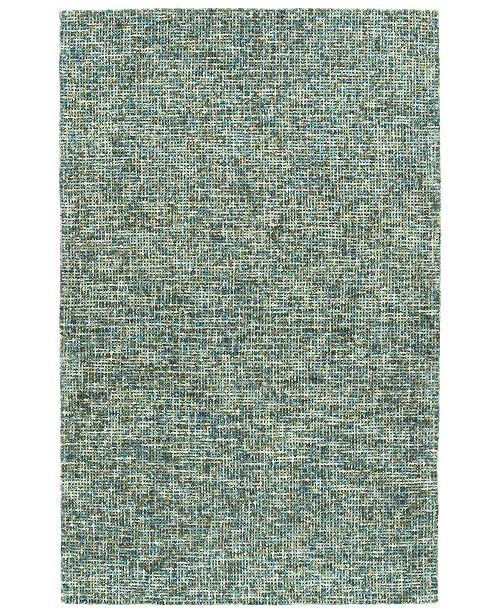 Kaleen Lucero LCO01-91 Teal 8' x 10' Area Rug